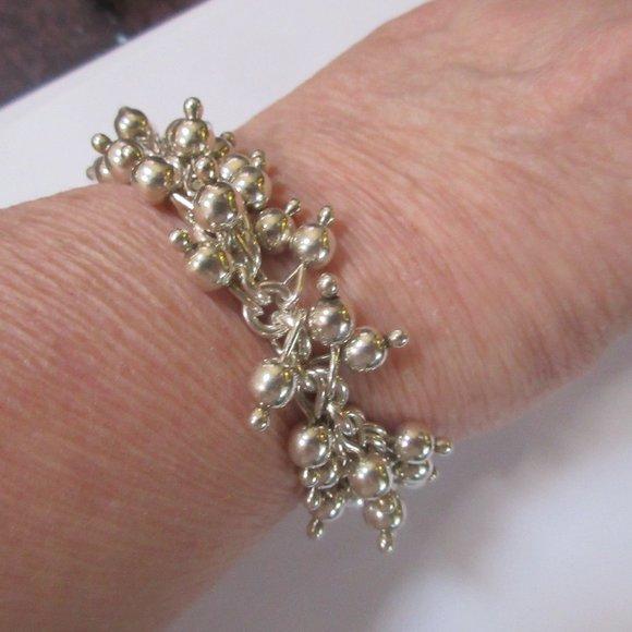 Silpada B0919 Cha Cha bracelet sterling silver
